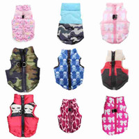 Pet clothing dog clothes autumn and winter new blue skull bu...