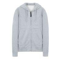18FW 60220 개 ZIP HOODED 셔츠 TOPST0NEY 남성 여성 후드 스웨터 패션 후드 HFLSWY308