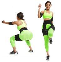 Coxa Shaper Sweat coxa Aparadores Perna Shaper braço Shaper 1 set Perde Bundas peso Slimming Belt Lifter Belt