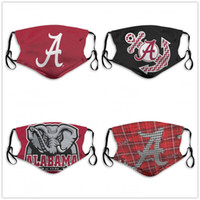 NCAA Alabama Crimson Tide Cycling washable adjustable reusab...