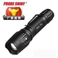 Nuovo Pattern Tactic Xml - T6 Light Flashlight Flessibile Focusing Mini- Torcia T6 Zoom Charge Flashlight
