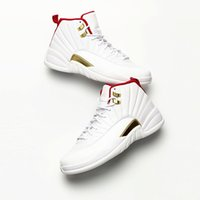 FIBA World Cup x Jumpman XII 12 White Red Michigan Basketbal...