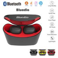 Bluedio سماعة T-قزم TWS بلوتوث 5.0 لاسلكية سماعات الرياضة في الأذن سماعة ستيريو سماعات الأذن 3D مع الشحن مربع ميكروفون لجميع الهواتف الذكية
