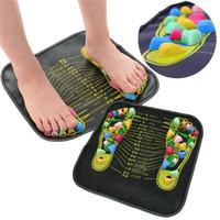 Refleksoloji Yürüyüşü Taş Ayak Bacak Ağrı Tahliyesi Rölyef Yürüyüşü Masaj Minderi Sağlık Akupresur Mat Pad massageador M29