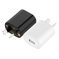 محول طاقة USB واحد 5 فولت 1A أستراليا نيوزيلندا au التوصيل الجدار شاحن لسامسونج الهاتف المحمول