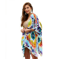 Ponchos Swimwear Beach Cover up Bikini kaftan Scarf Shawl Bo...