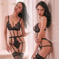 Sexy Luxury Woman-Wäsche-Spitze-Designer Wäsche Nachtwäsche Frauen schnüren Sexy Designer Strumpfhose Bodysui Wäsche Bustiers Pyjamas