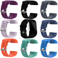10pcs set Soft Silicone Wristband Bracelet Band Sports Watch...