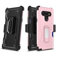 새로운 벨트는 LG K51 STYLO 6 모토 g 스타일러스 G 전원 삼성 A51A21 A11 iphone6 / 7 / 8plus 11 프로 유니 설계 하이브리드 PC의 TPU 휴대 전화 케이스 클립
