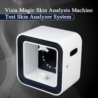 2019 الأحدث محلل الجلد تقنية Visia المرآة السحرية مع وودز مصباح تحليل الجلد