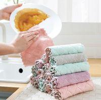 Súper absorbente de microfibra paño de cocina plato de alta eficiencia vajilla limpieza para la casa de toallas de Kichen de herramientas Gadgets Cosina 7767