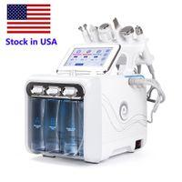 Stok ABD Hydro Mikrodermabrazyon Yüz Temiz Cilt Bakımı Yüz Temizleme Hydra Su Oksijen Jet Peel Makinesi Ev Kullanımı FedEx