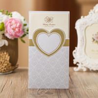 Lazer Kesim Davetiyeleri Kart Aşk Kalp Düğün Parti Zarflı Davetiye Kartları Malzemeleri