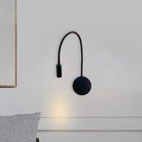 Настенная лампа Nordice огни стеклянные шарные спальни гостиной кровати люминария де парама