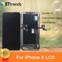Best Quality Hard AMOLED Screen for iPhone X Assembly with L...