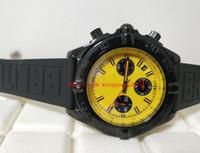 Mens 고품질 시계 44mm MB0111C3 | i531 | 262s | M20DSA.2 쿼츠 운동 크로노 그래프 남성 고무 스트랩 남성 Wristwatc