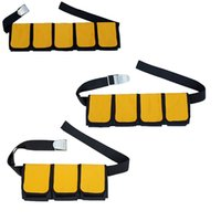 MagiDeal Scuba Diving 3 4 5 Pockets Weight Belt Heavy Duty W...
