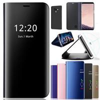 """صندوق جلد """"سمارت ميرور"""" لـ """"أونيبلوس"""" 88pro 7T Pro Vanty Clear Phone Case For Oneplus 7 7Pro 6t"""