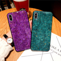 For iphone 6 7 8 Plus x xs max xr marble cases protective fo...