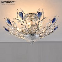 Moderne Schöne Design-Deckenleuchte Kristall-Lüster Lampe für Wohnzimmer Schlafzimmer Kristallleuchter-Licht zu Hause Leuchte