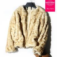 Pelliccia femminile Faux Winter Moda Giacca Cappotto Cappotto a maniche lunghe Caldo Femminile Femminile Aperto Stitch Slim Outwear L1674 all'ingrosso