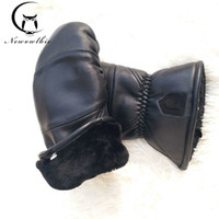 Men Leather Sheepskin Boxing Bending Outdoor Thicken Winter ...