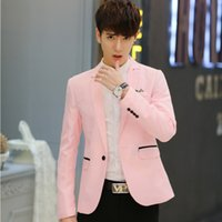2019 Spring New Men Handsome Young Student Small Suit Slim F...