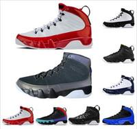 9 9s tênis de basquete Homens Gym Espaço Red Jam preto azuis marinhos dos homens atletismo 11s Bred boné e um vestido barato Esporte Formador Sneakers