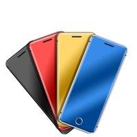 V66 + مفتوح بطاقة الهاتف البسيطة Ulcool BT المسجل 2.0 الترا سليم جسم معدني الهاتف راديو FM المزدوج سيم الهاتف المحمول الصغيرة للهواتف الذكية