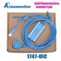 1747-UIC-kompatibel Allen Bradley SLC Series PLC Hämta kabel USB-1747PIC USB till RS232 / DH-485 Interface Converter