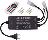 Contrôleurs RVB, télécommande de lumière à LED, CA 110V / 230V 1500W 2500W LEDS Strips Strips Switch Switch Switch, Contrôle sans fil haute tension