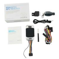 DHL / 페덱스 10PCS 원래 방수 자동차 GPS 트래커 TK303G 2g GPS 트래커 자동차 Gps303 GPS303G 트래 커