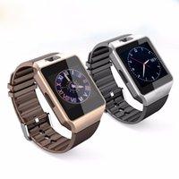 10pcs Bluetooth relógio inteligente DZ09 Wearable pulso Phone Watch Relogio 2G SIM TF Para Iphone Samsung smartphone Android Smartwatch
