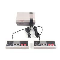 Sıcak Satış Mini TV Video Eğlence Sistemi 620 500 Oyun Konsolu için NES Oyunları Wth Kontrolörler Perakende Kutu Ambalaj