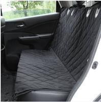 Großverkauf Freies shippingWaterproof Haustier-Sitz-Abdeckungs-Autositz-Abdeckung für Auto-LKWs und SUV-Schwarzes