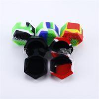 26ml Honeybee Cera Contenitore Hexagon Storage Box Vasi Hive silicone Portable compone Scatole Eco Friendly popolare caldo di vendita 3 5xz UU