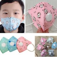 Vana Melt gelişmiş Bez toz geçirmez beş Katman Koruyucu PM2.5 1-10 Yaşında XD23392 Maske Nefes ile Çocuk Maskesi