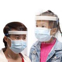 Crianças Adultos Protecção Anti respingo Dust-proof da tampa Máscara Facial Visor Escudo Anti Gota evitar a propagação da Máscara de saliva