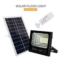 Umlight1688 100W Solar Powered Street Flood Lights 196 Leds4...