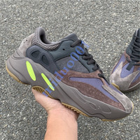 2019 Nuovo 700 Runner Kanye West Mauve Wave Uomo Donna Athletic di alta qualità 700s Sport Running Shoes Sneakers Designer con scatola
