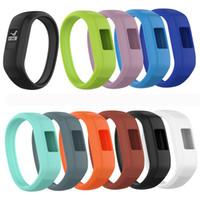 Dragonne molle de bracelet d'enfants de montre de silicone pour la bande de poignets de rechange de Garmin Vivofit JR 2 / Vivofit 3