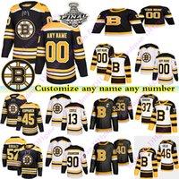 Boston Bruins Jerseys 40 Rask 13 Coyle 46 KRJCI 47 KRUG 52 Kuraly 45 KOPPANEN Johansson Personaliza cualquier número Cualquier nombre Hockey Jersey