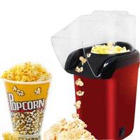 Mini Ev Sağlıklı Sıcak Hava Yağsız Mısır Patlatma Makinesi Makine Mısır Popper Home For Mutfak Mini Popcorn Maker Makina