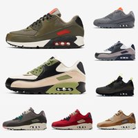 Nike air max 90 airmax Stock X VIOTECH OG 90 Mens Running Shoes Mixtape South beach Raptors 90s Neon Accents be true infrared men women sports designer sneakers