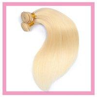 페루 인간의 머리카락 번들 613 # 컬러 금발 헤어 익스텐션 Wefts 95-105g / piece 원피스 번들 613 # 색상