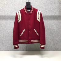 남자를위한 2020 패션 새로운 남성 럭셔리 디자이너 빨간색 재킷 CHINESE SIZE 자켓 ~ 디자이너 높은 품질 재킷