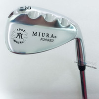 Clubes de golf Miura K-Grind 1957 Forged Golf Wedges o 52.56.60 Proyecto X 6.0 Steel Golf Shaft Wedges Clubs Envío gratis
