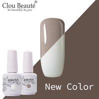 Clou beaute Nuovo colore chiodo del gel coat base polacca necessità top semi permanente Nail Art ibrida Primo Gel Lacquer Vernice