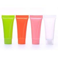 Dropshipping 5 ml recargable vacío tubos de plástico brillo de labios 10 ml de muestra botellas de embalaje maquillaje cosmético Contenedores Fedex envío rápido B2603