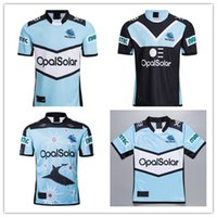 2019 2020 CRONULLA SHARKS Rugby Trikots Hero Edition Rugby League Cronulla Sutherland Sharks Rugby Herren Designer T-Shirts S-3XL
